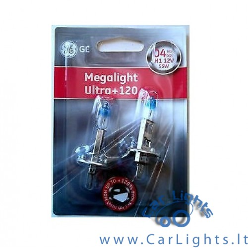 General Electric(GE) H1 Megalight Ultra +120 Lemputės