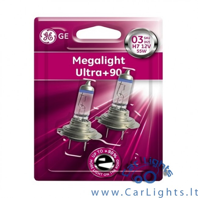 general electric ge h7 megalight ultra 90 lemput s