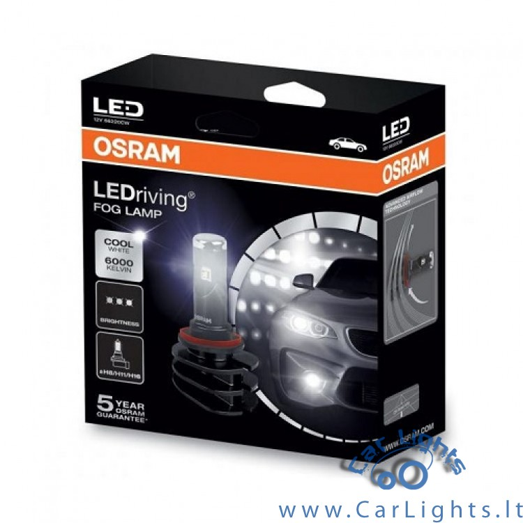 OSRAM Ledriving H8/H11/H16 Led Fog Lamp