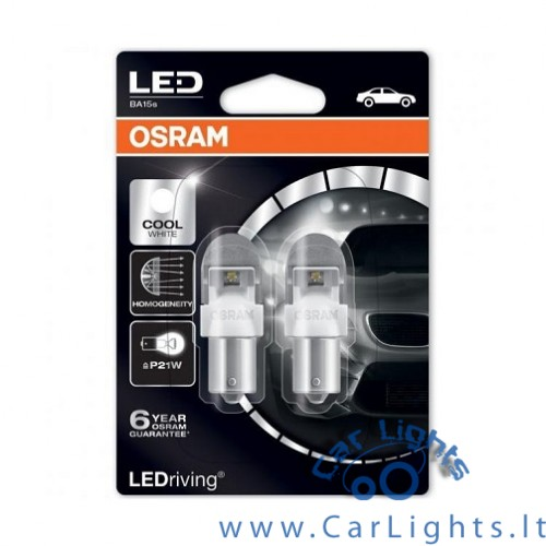 OSRAM Led P21W Cool White 6000K Premium