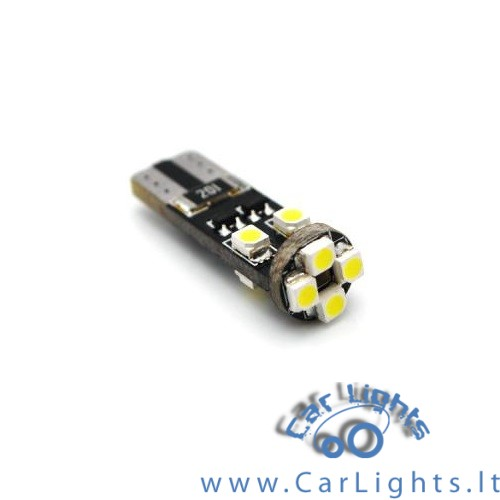 T10 W5W CanBus 8 SMD 3528